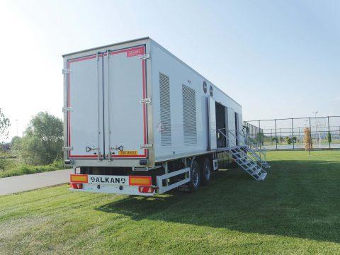 Mobile Bakery Trailer Vehicle