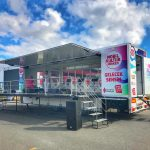 Mobile Stage Trailer Truck