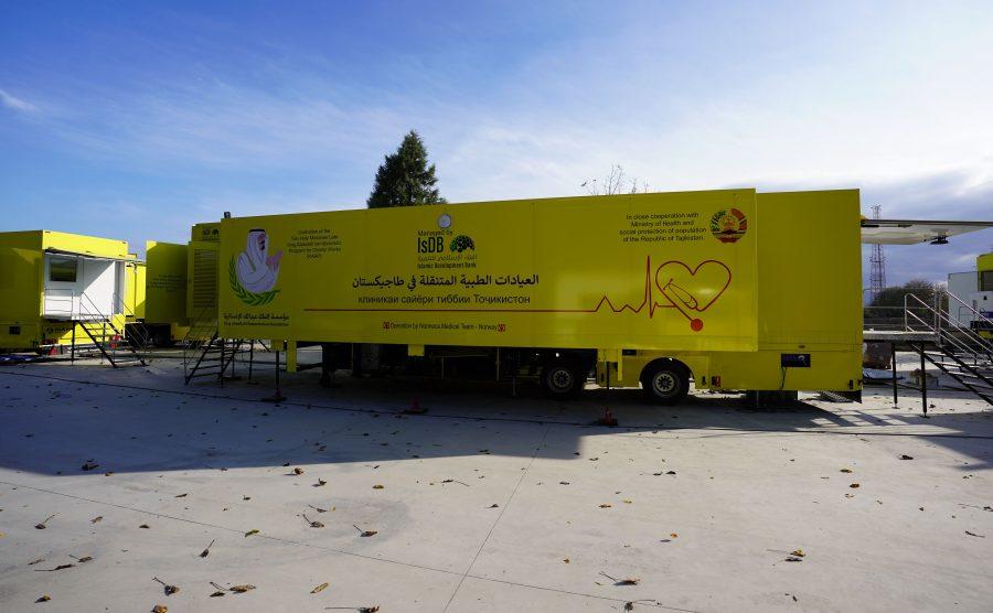 Mobile CT & MRI Clinic Trailer Vehicle