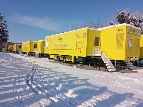 Mobile Surgical Trailer Unit