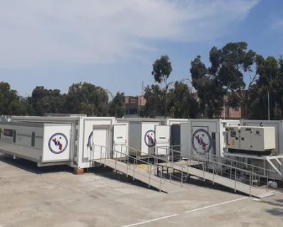 Mobile Clinic Container Truck Trailer