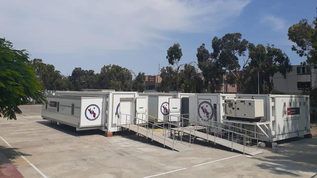 Container Based Mobile Field Hospital