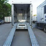 Mobile Military Trailer Vehicle