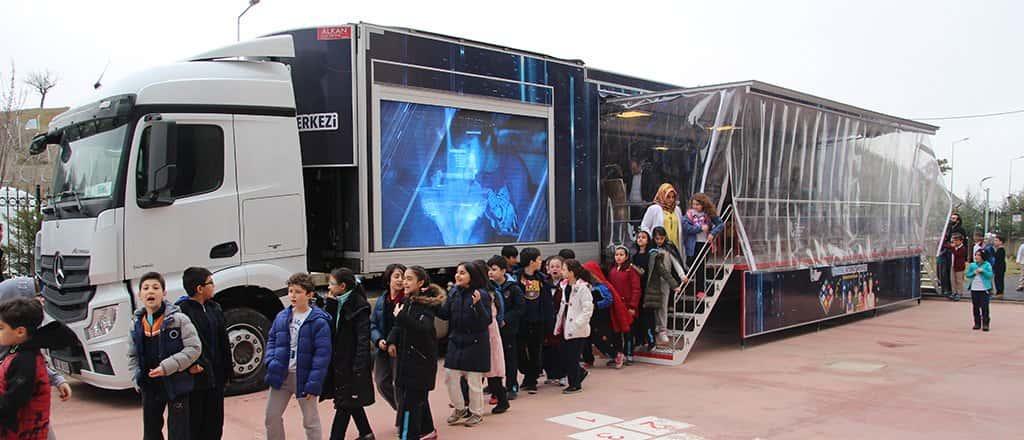 Crytek Trained with BTK Mobile Education Vehicle Trailer