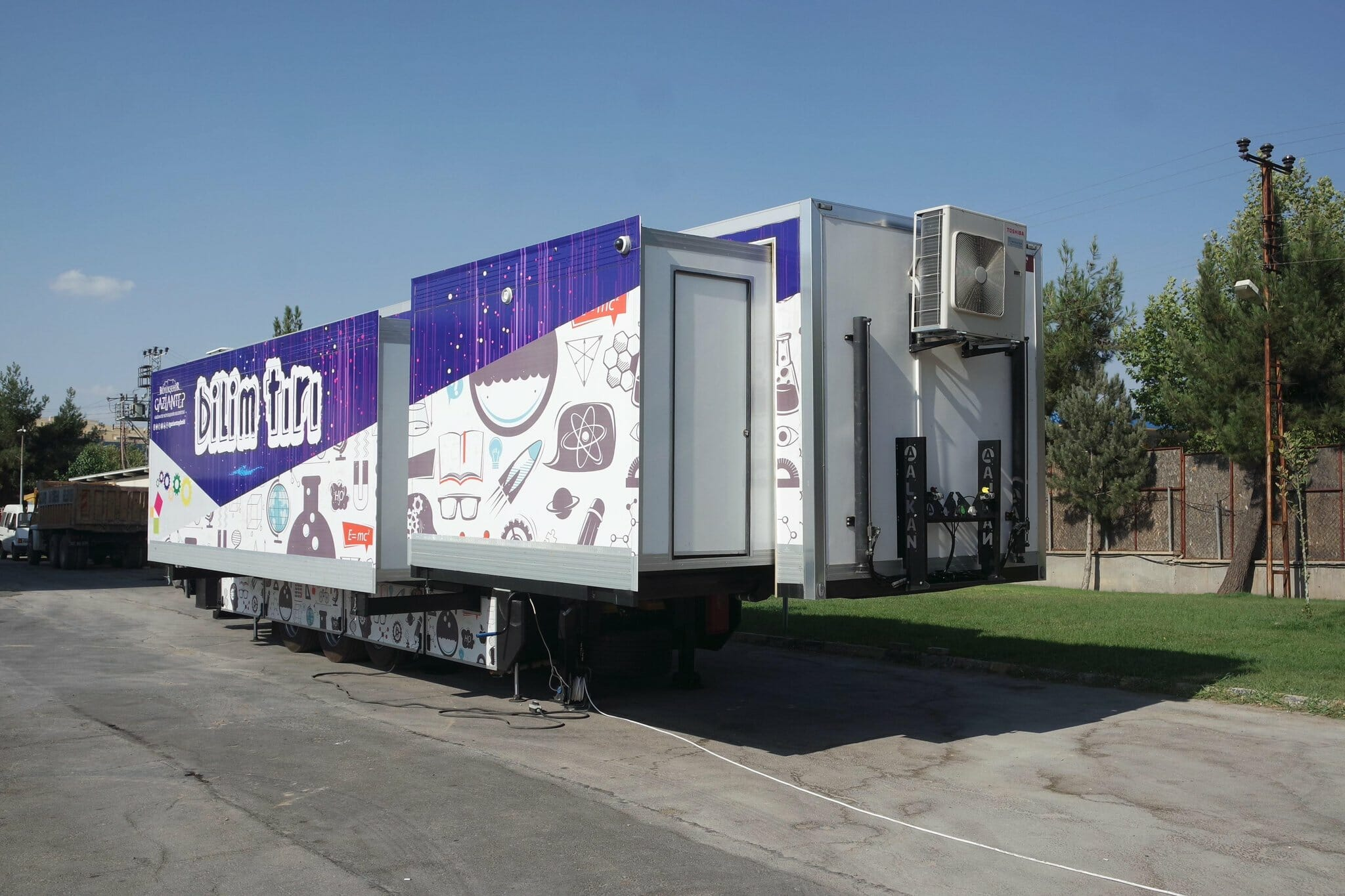 Mobile Education And Science Vehicle Sets Off