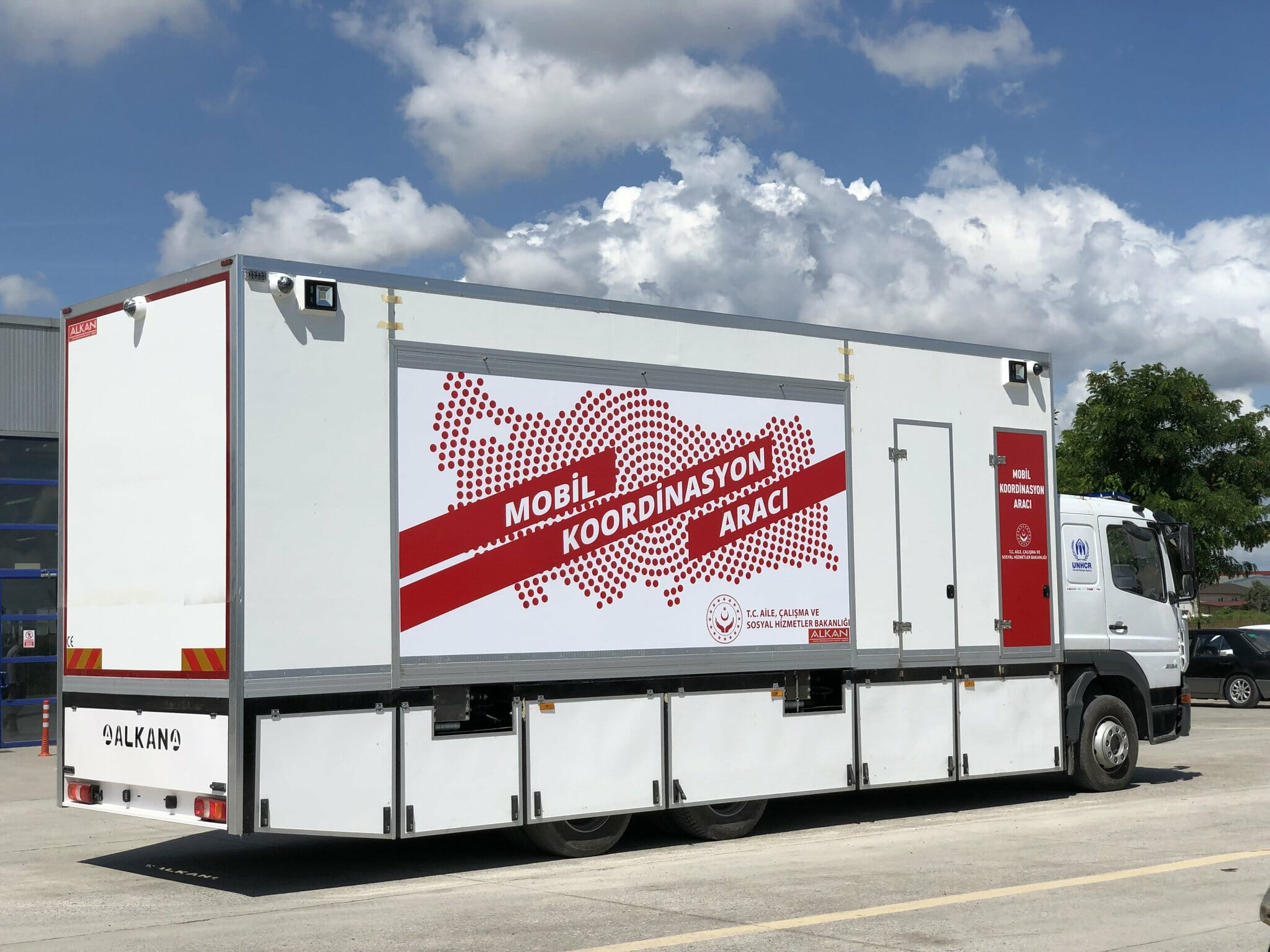 Mobile Coordination Vehicle Trailers of 2019 Delivered