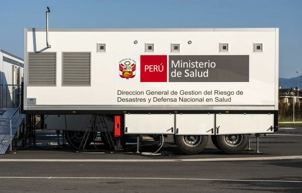 Our mobile hospitals are starting to take part