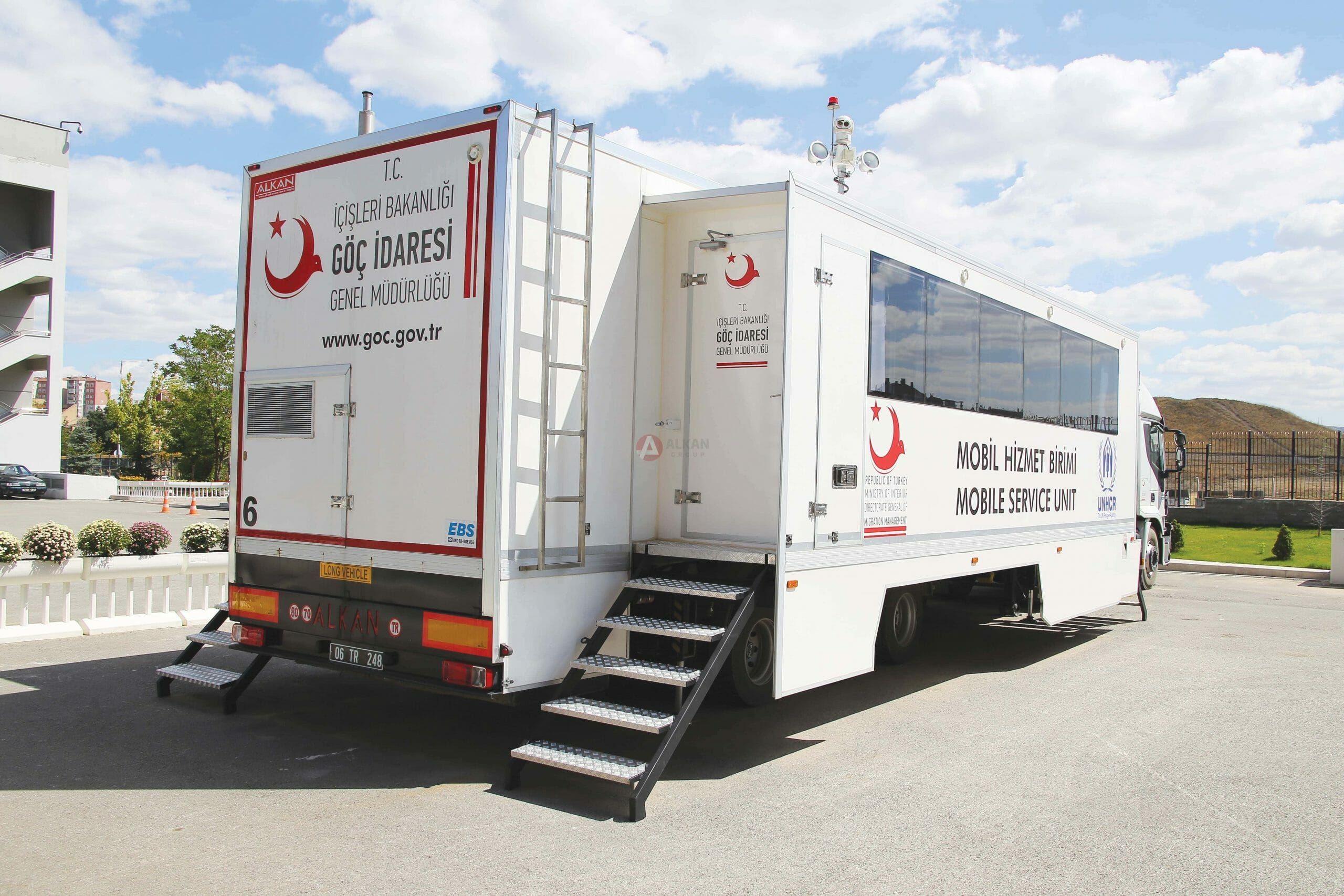 Mobile Command And Control Trailer