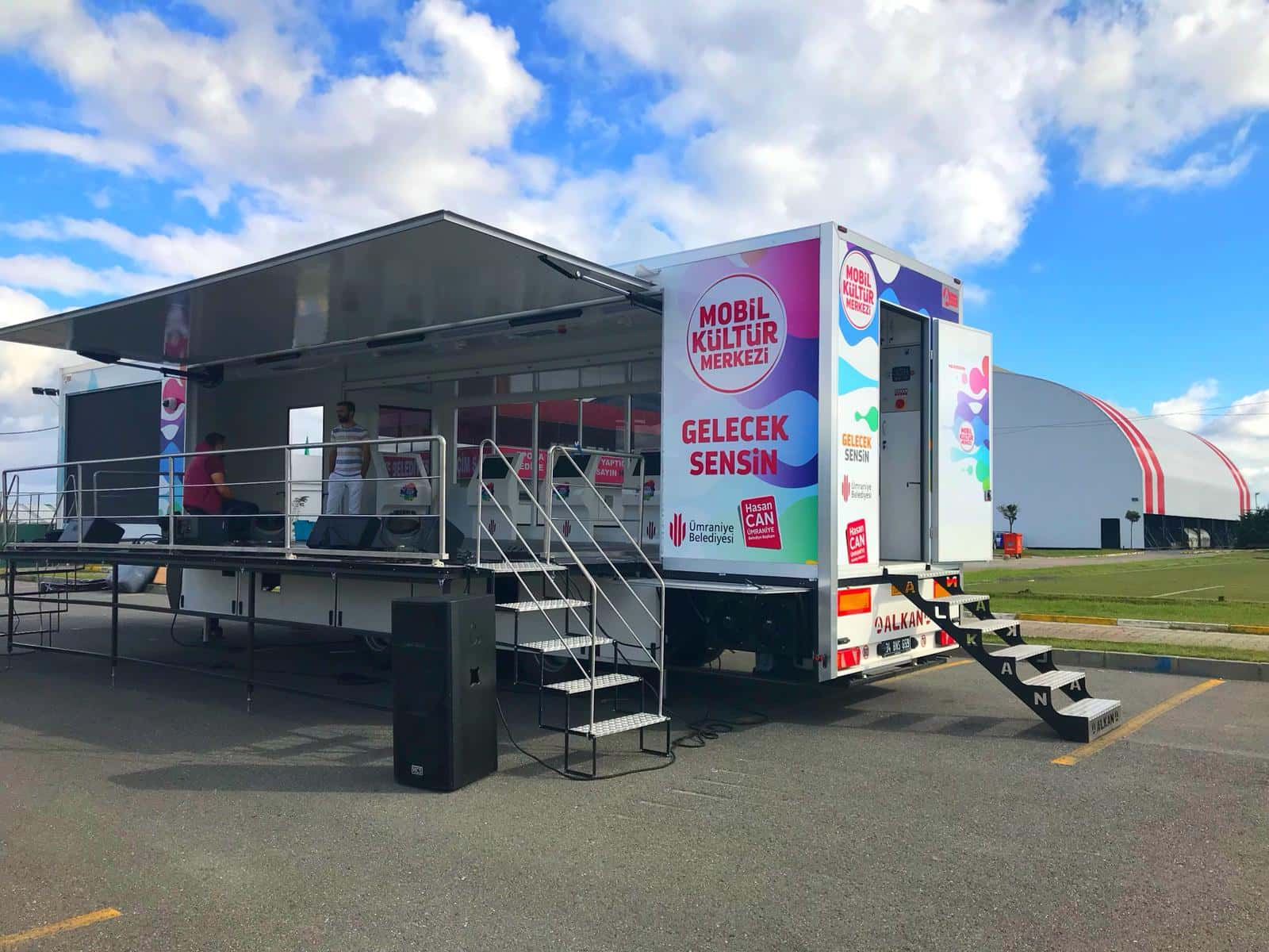 Turkey's First Mobile Culture and Education Vehicle Trailer Launches