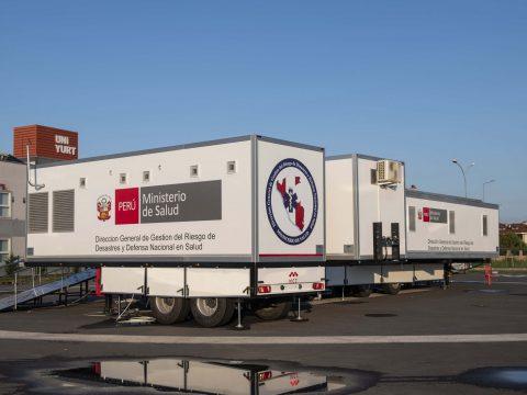 Trailer Based Mobile Field Hospital